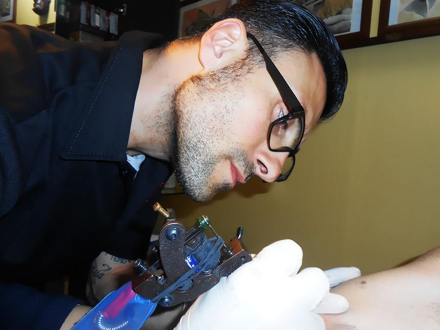 Massimo Leonardi Tatuatore Cagliari
